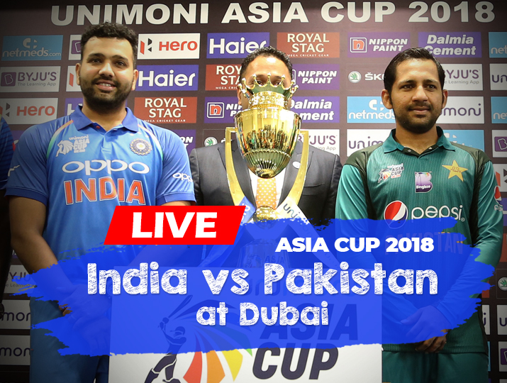 India vs Pakistan, Asia Cup 2018, Watch IND vs PAK Live Match Free