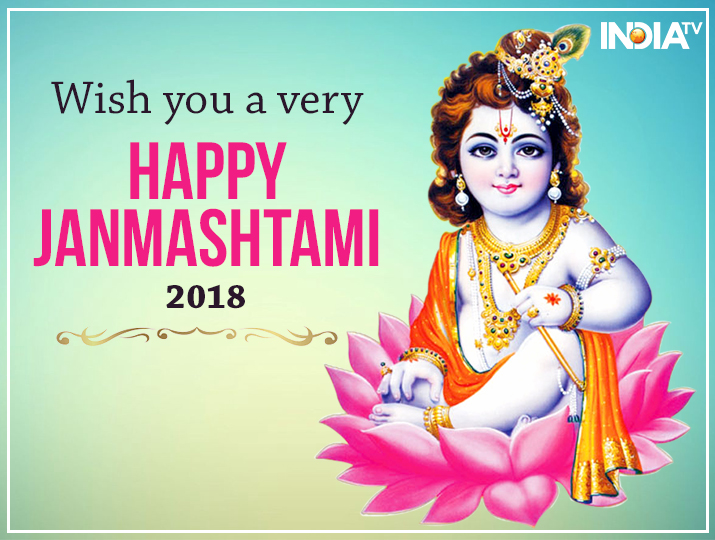 Happy Krishna Janmashtami 2018 Best Wishes Quotes Hd Images With