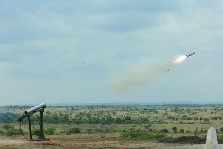 DRDO successfully tests man-portable anti-tank guided