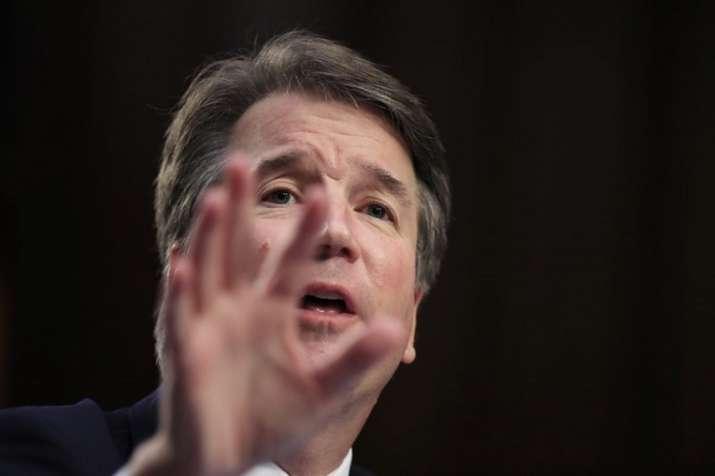 US Supreme Court nominee Brett Kavanaugh.