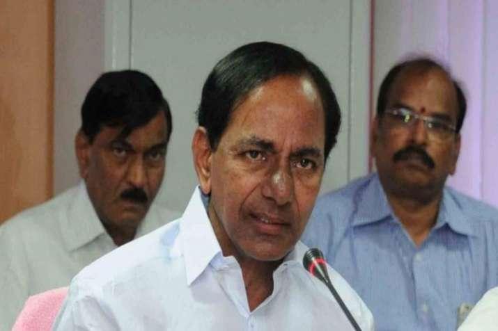 Telangana CM Chandrasekhar Rao