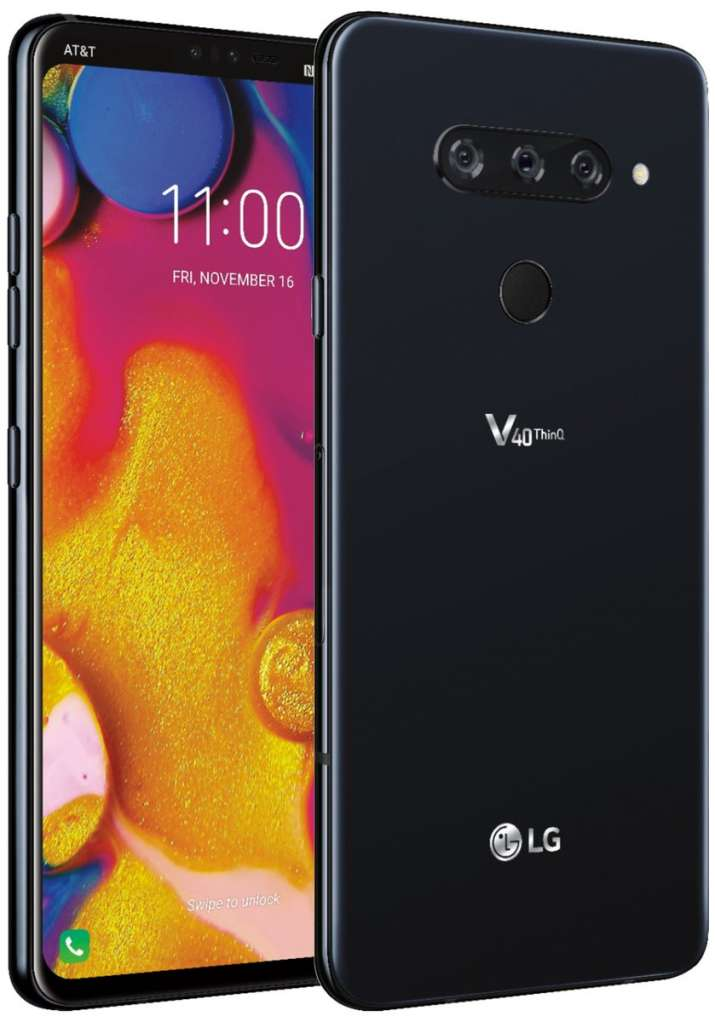India Tv - LG V40 ThinQ with triple rear cameras renders before October 3 launch