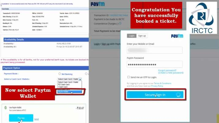 India Tv - Paytm booking