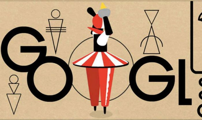 India Tv - Google celebrates German sculptor, Oskar Schlemmer's 130th birthday with a dancing doodle