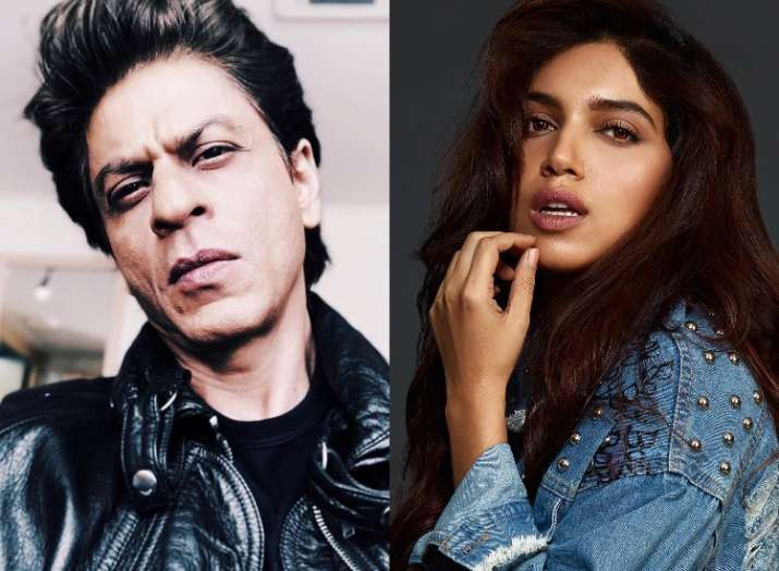Image result for bhumi with shahrukh khan
