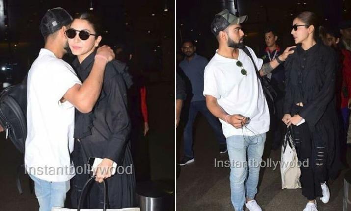 Anushka Sharma Virat Kohli S Pda At Mumbai Airport Will Up