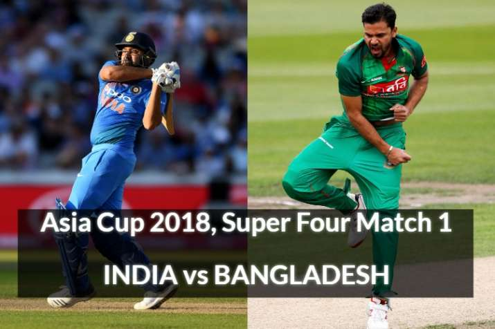 Live Match India vs Bangladesh Asia Cup Super Four, Watch IND vs BAN