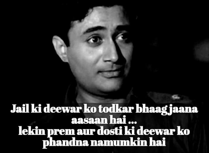 India Tv - Dev Anand's iconic dialogues