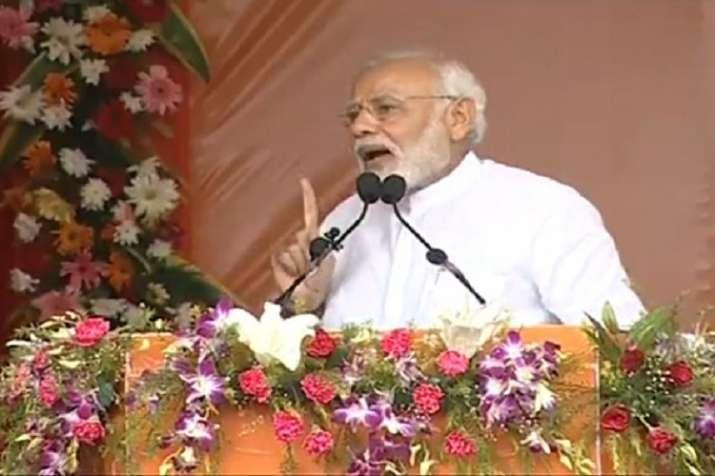 PM Modi addressed a public gathering in Talcher, Odisha.