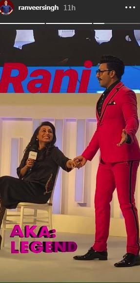 India Tv - Ranveer Singh with Rani Mukerji