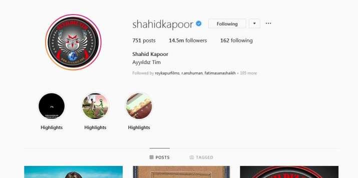shahid kapoor social media hacked