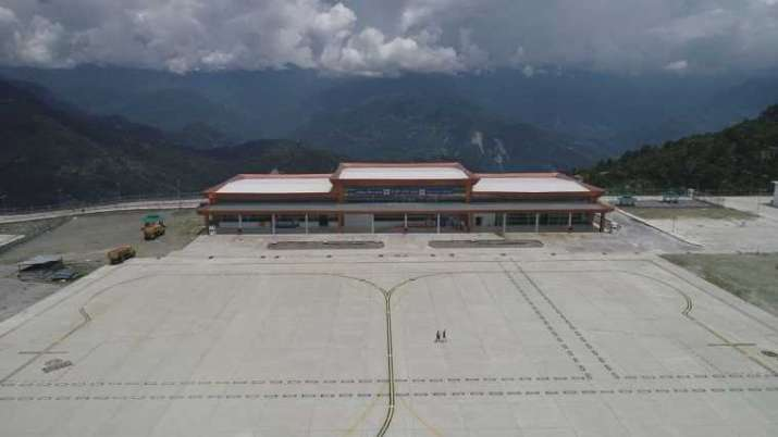 India Tv - Travel News | Sikkim's first-ever Pakyong Airport to be inaugurated on September 24