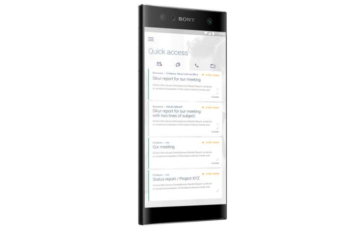 India Tv - Sikur, Sony based high-security phones: SikurPhone XZ1 & XA2