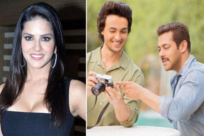 Sunny Leone, Aayush Sharma, Salman Khan