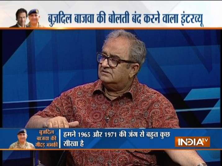 Tarek Fatah on India TV
