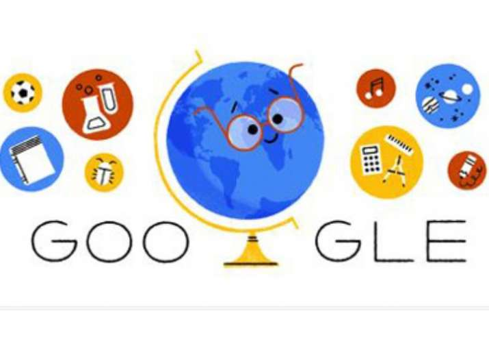 India Tv - Search giant Google dedicated an animated doodle to Teachers' Day.