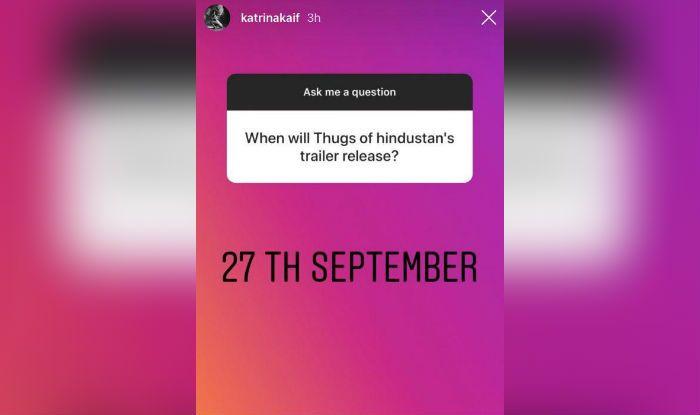 India Tv - Katrina Kaif's Instagram story