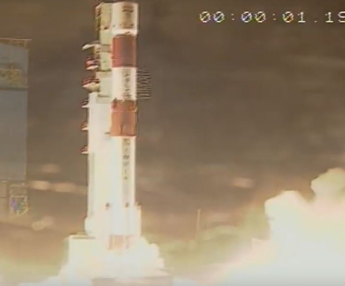 India Tv -  PSLV-C42 lifts off