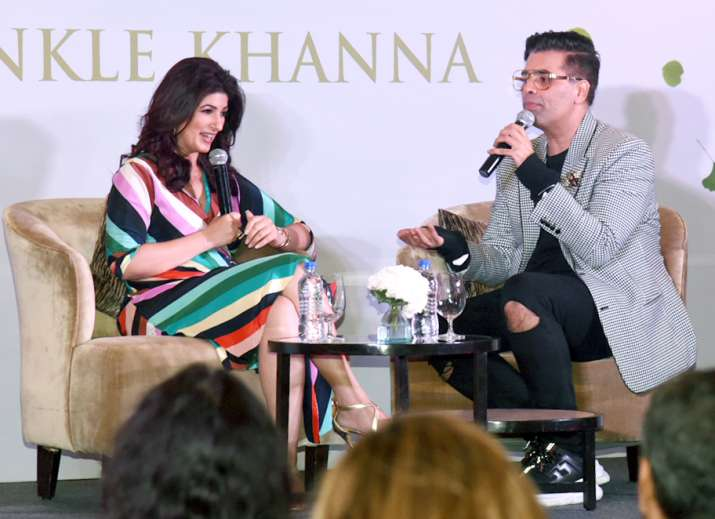India Tv - Twinkle Khanna's book launch pictures