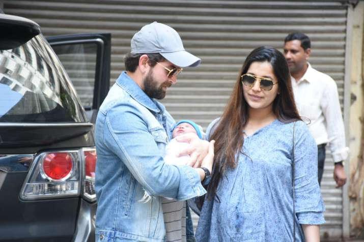India Tv - Neil Nitin Mukesh and wife