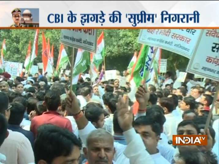 India Tv - Protests in UP
