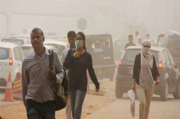 India Tv - Delhi's air quality turns severe for first time in season
