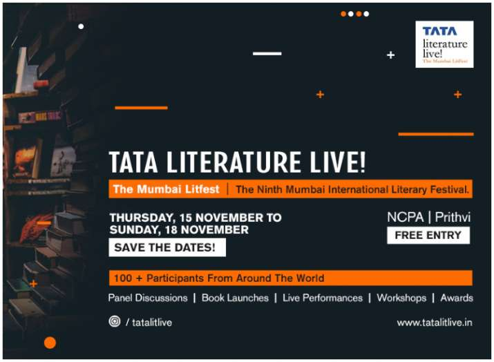 India Tv - Notable literary names to participate in Mumbai LitFest this November
