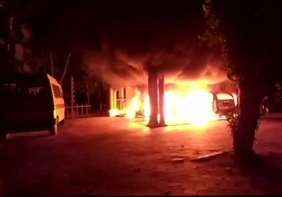 Swami Sandeepananda Giri's ashram attacked in Trivandrum