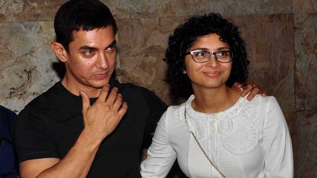 India Tv - Aamir Khan and wife Kiran Rao