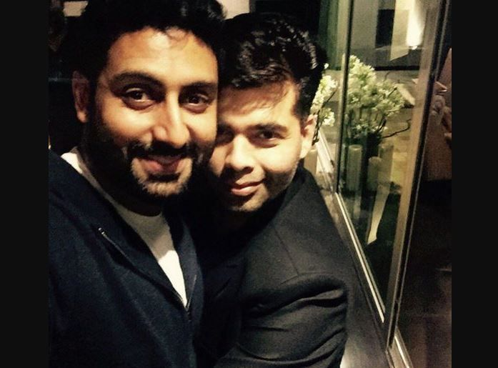 India Tv - Abhishek Bachchan and Karan Johar