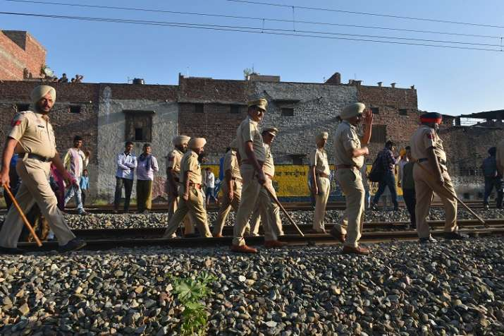 amritsar dmu train driver name