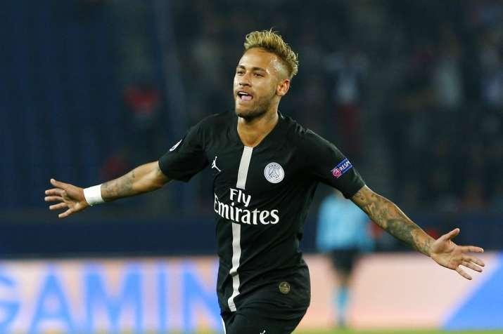 half off d24b5 93469 UCL: Showman Neymar back to his best as PSG thumps Red Star ...