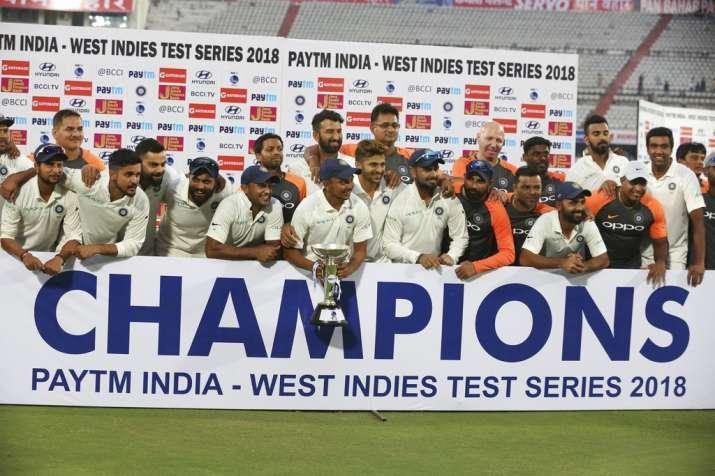 India Tv - 10 Consecutive Test Wins