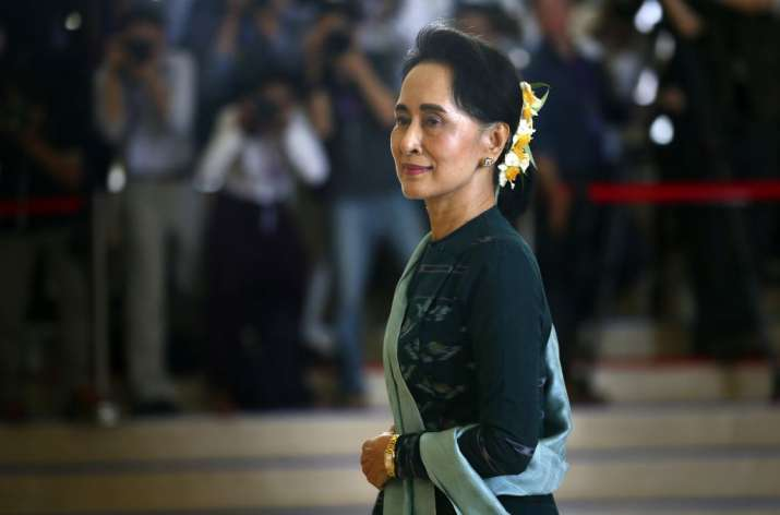 File photo of Aung San Suu Kyi