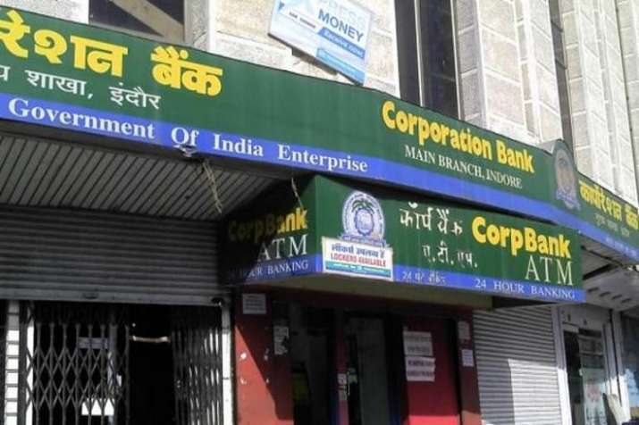 The cashier of a Corporation Bank was shot dead and three