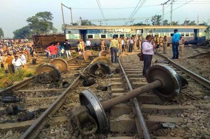 Farakka express derailed