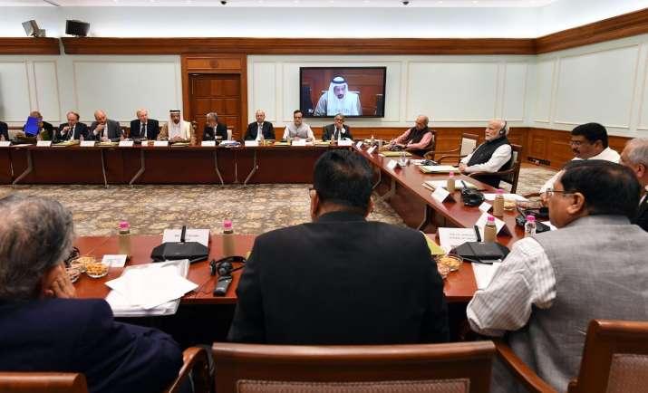PM Modi meeting oil executives