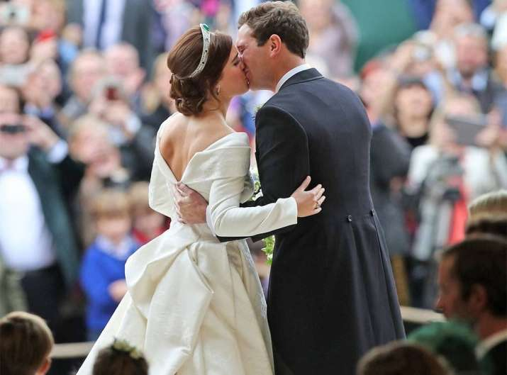 India Tv - Inside Pictures from Princess Eugenie's wedding