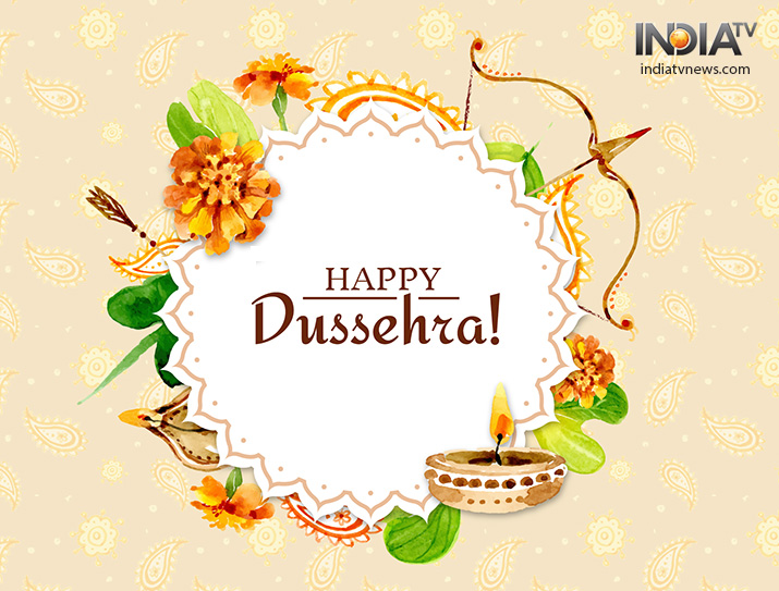 India Tv - Dussehra 2018: Happy Dussehra Wishes, Messages & Quotes, greetings, images to share on SMS, WhatsApp, Facebook, Dussehra wishes photos, SMS wishes, Instagram wishes