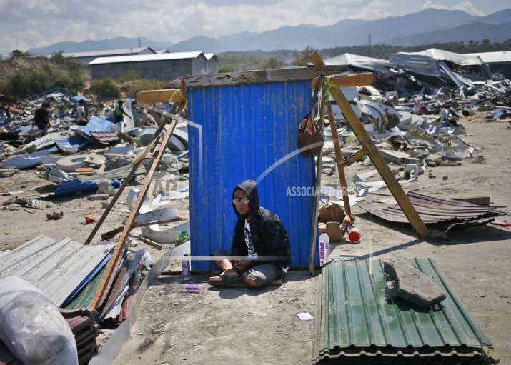 India Tv - Indonesia tsunami wreaks havoc.