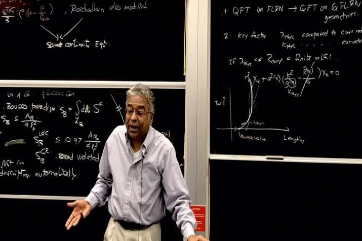 Professor Abhay Ashtekar.