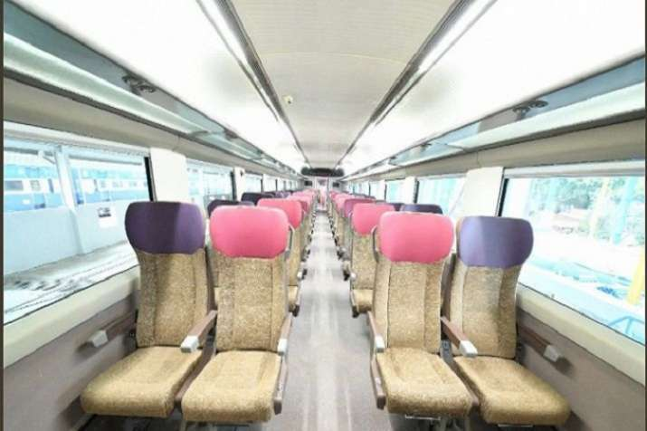 India Tv - Train 18 launched