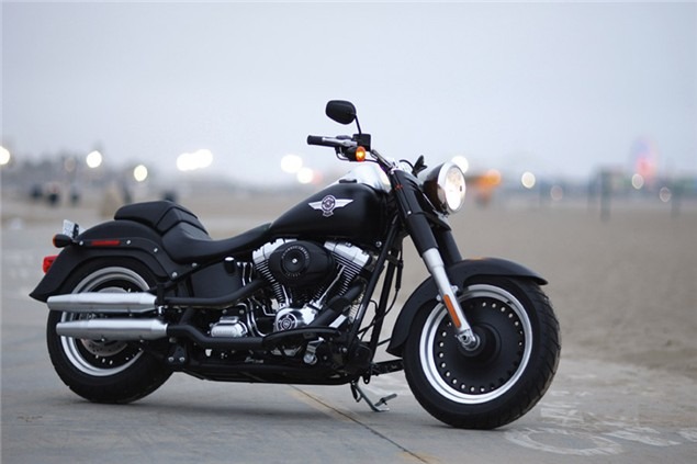 India Tv - Representational image of the Harley Davidson Fatboy
