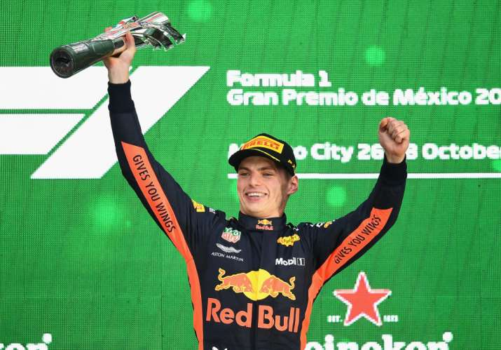 India Tv - Red Bull dominated as Max Verstappen won the Mexican GP