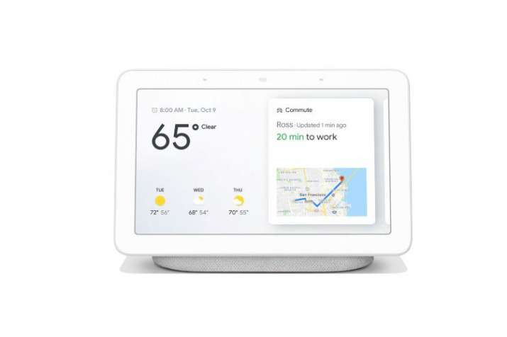 Google Home Hub smart display with, built-in Assistant launched at