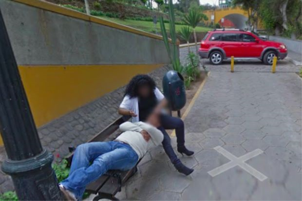 Bridge Street Auto >> Caught on Google Maps: Peruvian man divorces wife after seeing her cuddling stranger on Street ...