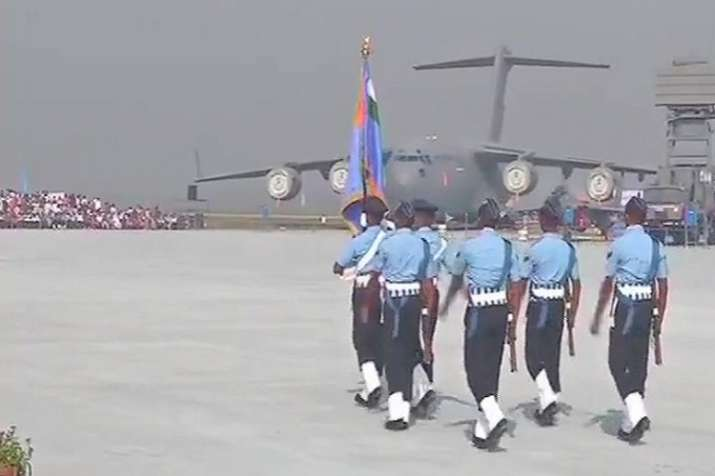 The celebrations of  86th anniversary Indian Air Force are