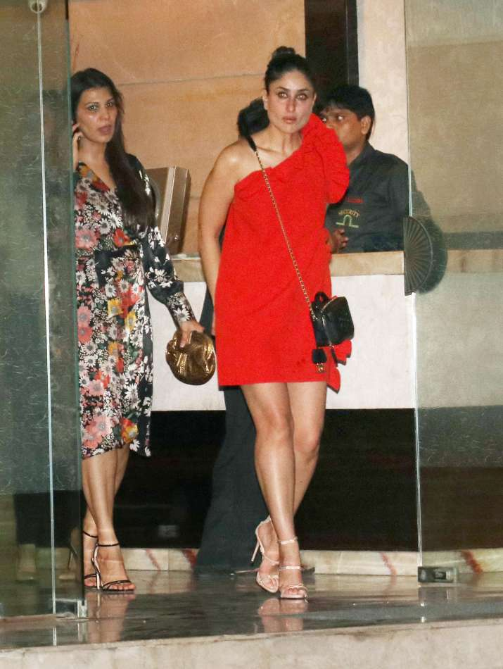 India Tv - Kareena Kapoor Khan flashing her bright red sartorial style shouldn't be missed