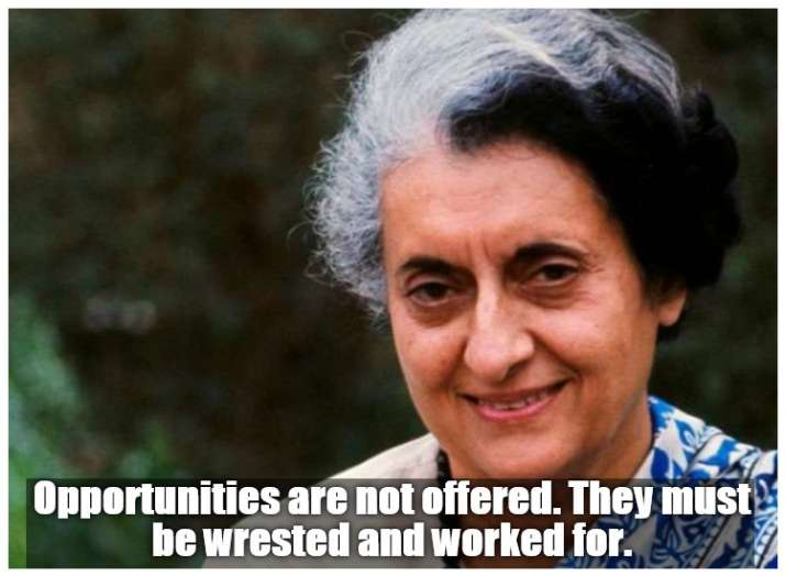 India Tv - 8 Inspirational quotes of Indira Gandhi, remembering PM on her 34th death anniversary