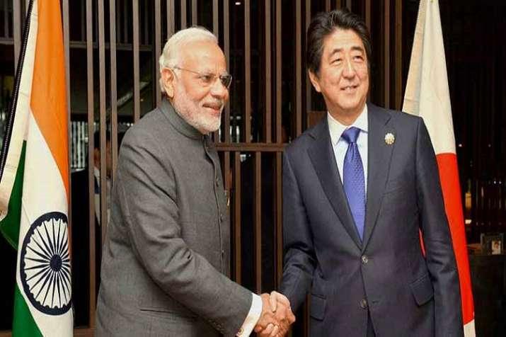 Narendra Modi - Shinzo Abe